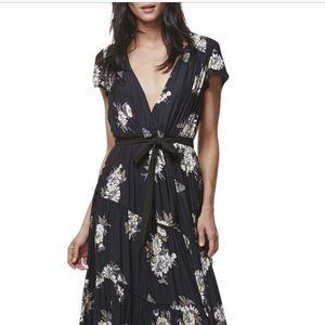 Free People Black Floral Maxi Dress